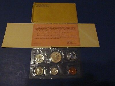 1964 Proof Set ~ Original Envelope With COA ~ US 90% Silver Mint Coin Set