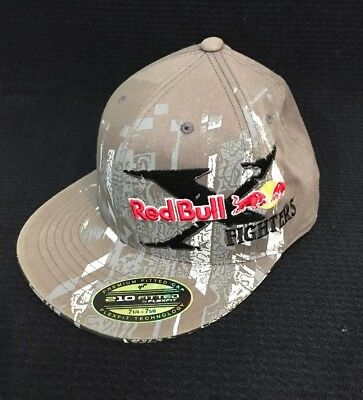 adfdf8398e516 RED BULL X Fighters FOX Black Pinstripe New Era 59Fifty Fitted Hat ...