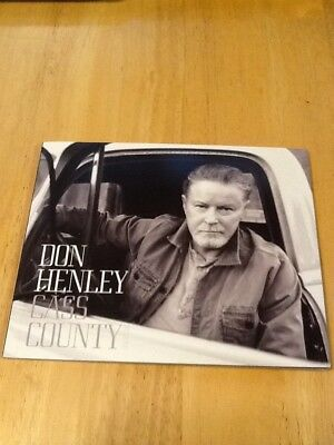 Eagles/Don Henley Cass County Limited Edition Deluxe Large Booklet Style CD