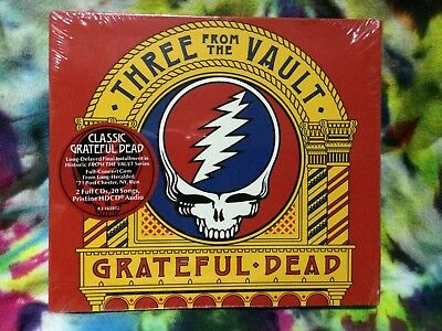 Grateful Dead Three From The Vault 3 Port Chester New York 2/19/1971 NY 2 CD III
