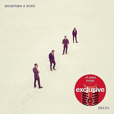 Mumford and Sons Delta CD TARGET DELUXE w / 3 bonus tracks (17 tracks total)