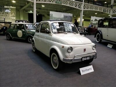 1976 Fiat 500L Saloon LHD Low miles restored charming/collectable classic Rare