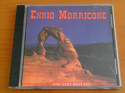 ENNIO MORRICONE - THE VERY BEST  CD 1995 Made in Europe IN GREAT CONDITION