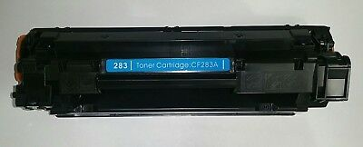 V4INK 4 pack Compatible Replacement for HP 83A CF283A Toner Cartridge CMYK
