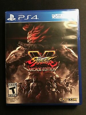 Street Fighter V Arcade Edition Sony PlayStation 4 PS4