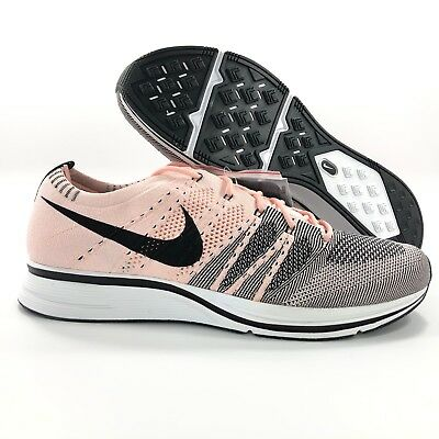 new arrival 99e9f 03641 Nike Flyknit Trainer Sunset Tint Pink Black White AH8396-600 Men s 13