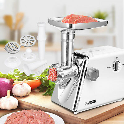 2800W ELECTRIC MEAT GRINDER MINCER SAUSAGE MAKER MACHINE STAINLESS STEEL  new