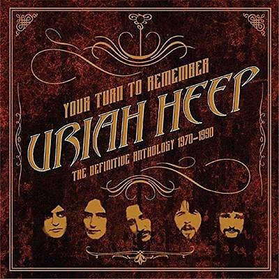 URIAH HEEP YOUR TURN TO REMEMBER Definitive Anthology 2 CD DIGIPAK  NEW