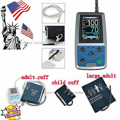 US seller Ambulatory Blood Pressure Monitor NIBP Monitor 24Hours Holter Software