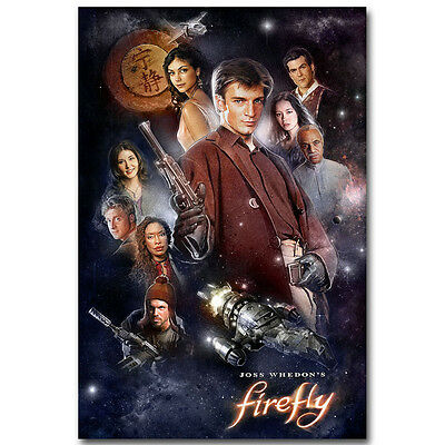 Firefly - Classic USA TV Series Vintage Silk Poster 13x20 24x36 inch 002