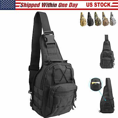 Shoulder Military Tactical Backpack Army Travel Camping Hiking Trekking Out 25L