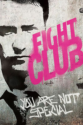 Fight Club Classic Movie poster Art Hot 12x18 24x36in FABRIC Poster N3205