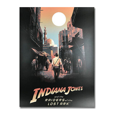 Indiana Jones and the Last Crusade Art Silk Poster 13x18 24x32 inch