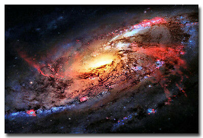 "Planet Galaxy universe sci fi Space Art Silk Fabric Poster Print 13x20 24x36"" 02"