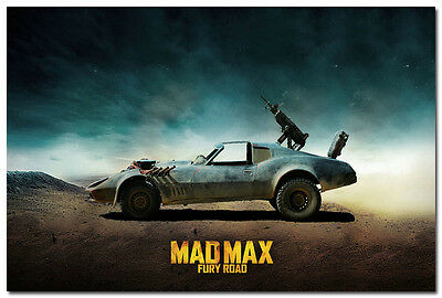Mad Max Fury Road Movie Silk Poster 13x20 inch Buggy Car 002