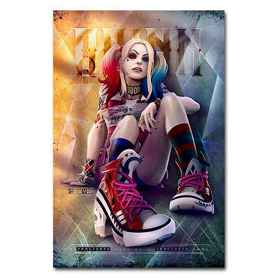 Suicide Squad Harley Quinn Comic Art Silk Poster 13x20 24x36 inch 002