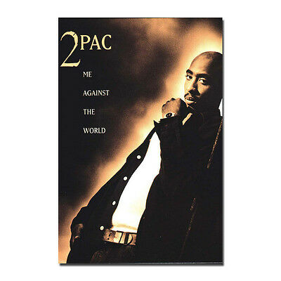 2pac Me Against The World Art Silk Poster Printing 13x20 24x36 inches