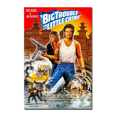 W559 Big Trouble in Little China Movie 27x40 24x36 Hot Poster