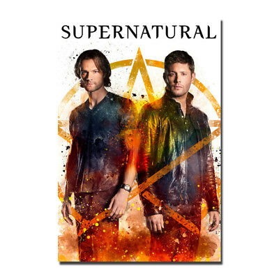 Supernatural TV series Jared Padalecki Premiere Silk Poster 13x20 24x36 inch