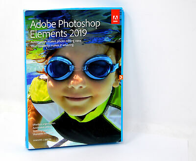 Adobe Photoshop Elements 2019 | Standard - Englisch | PC/Mac | Disc