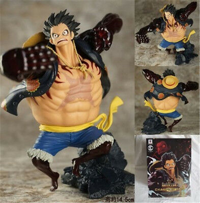 Toys & Hobbies Anime One Piece Zero Luffy Figure Monkey D Luffy Gear Fourth Pvc Collection Model Toys 18cm