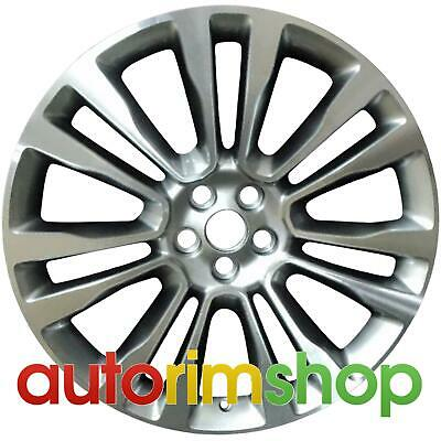 """Lincoln MKX 2016 2017 2018 21"""" OEM Wheel Rim Machined with Silver"""