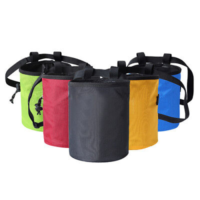 Non-slip Chalk Bag Bouldering Rock Anti-wear Magnesium Powder 17.5CM*11CM Pouch