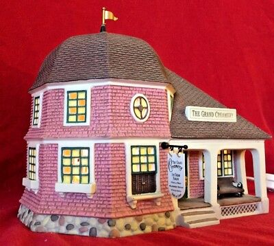 The Grand Creamery Dept 56 Seasons Bay Village 53305 Christmas house dairy shop