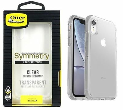 Original Otterbox Symmetry Protection Case for Apple iPhone XR - Clear - USED