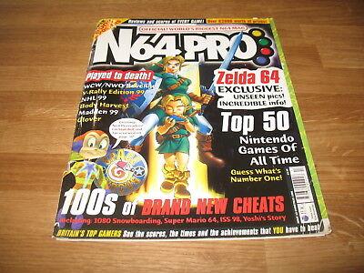 N64 Pro magazine # 15 issue 15 Christmas 1998 N64 Nintendo