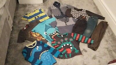 *Must see* Boys Clothes Bundle Winter 3-4 yrs Next M&S Boots Iron Man Rrp £100