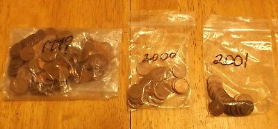 France 1 Euro Cent Lot - 8 oz Random Selection - Approx. 100 coins - See Pics