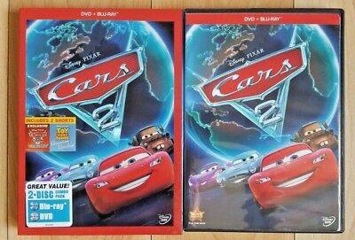 Cars 2 - Authentic Blu-ray/DVD 2-Disc Set