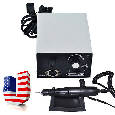 35KRPM Dental Jewelry Micromotor Polisher Micro Motor Handpiece Control Unit USA