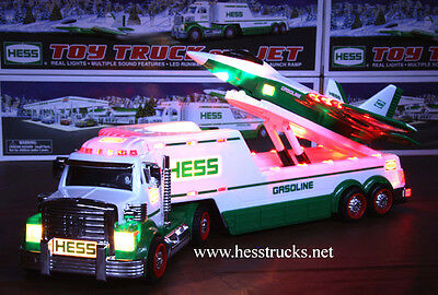 2010 Hess Truck and Jet    100% Mint-in-Box from case