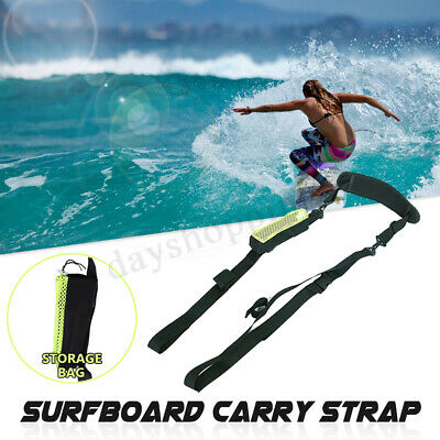 Surfboard Shoulder Carry Strap Stand Up Paddle Board Carrier Sling Wall Xams