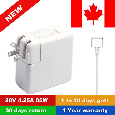 """NEW 85W Charger AC Power Adapter For Apple Macbook Pro Retina 13"""" 15"""""""