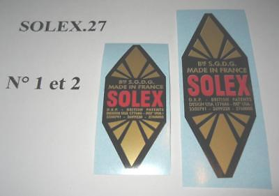 2  Autocollants  Losange  Sp  (1Gm+1Pm)  Solex  Velosolex