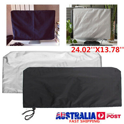 24 Inch Computers Flat Screen Monitor Dust Cover PC TV Fits Tablets Protectors