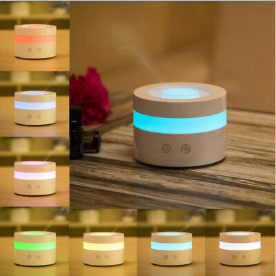 White LED Air Humidifier Office Household Aromatherapy Ultrasonic Humidifier