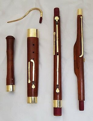 ANTIQUE BELGIUM BAROQUE BASSOON - JEAN ARNOLD ANTOINE TUERLINCKX ca.1810