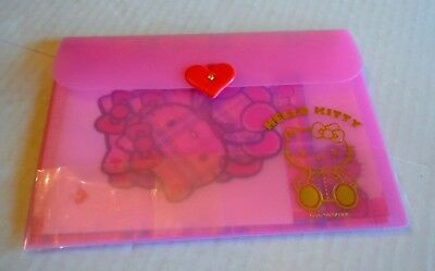 Hello Kitty Stationery in Plastic Case