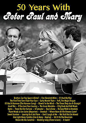 PETER PAUL & MARY New Sealed 50th ANNIVERSARY BIOGRAPHY & MORE DVD