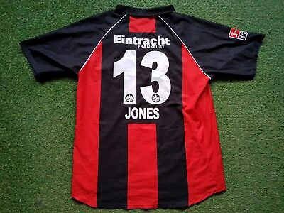 Eintracht Frankfurt Trikot XXL 11/12 jako Football Shirt Jersey  Fraport Jones