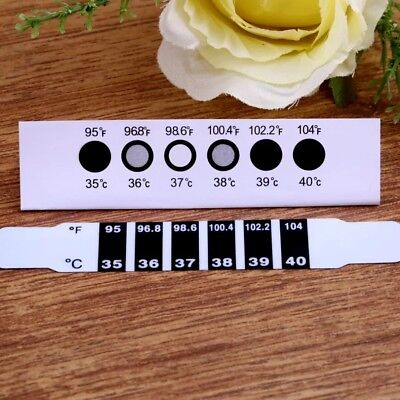 1 Pcs Forehead Head Strip Thermometer Fever Body Baby Child Kid Adult Check Test