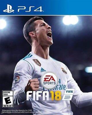 FIFA 18 PS4 Game New & Sealed