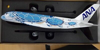 All Nippon Airways Commercial 1/100 A380 JA 381 A FLYING HONU ANA Blue Limited