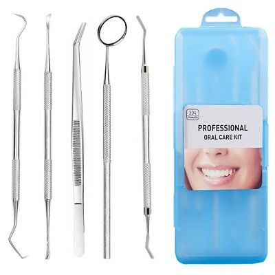 Dental Tool Set,Dental plaque cleaning tool,304 stainless steel+ABS Tartar  W5O6