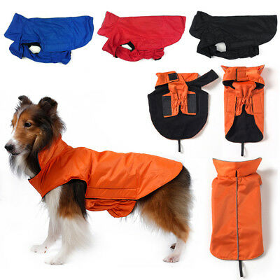 Lovely Soft Dog Jacket Padded Waterproof Pet Clothes Warm Vest Coat Winter S-3XL