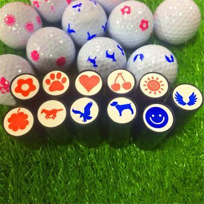 Long Lasting Golf Ball Stamp Stamper Marker Seal Impression Golfer Quick-dry
